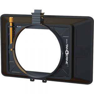 Bright Tangerine Misfit Atom Clamp-On Mattebox