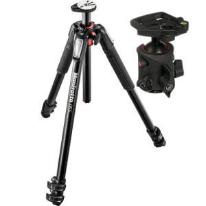 Manfrotto 054 Ball Head w/ 055CX Legs Tripod Kit