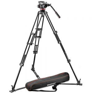 Manfrotto 502 Head w/ 546GB Legs Tripod Kit
