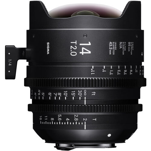 Sigma Cine 14mm T/2 FF Lens
