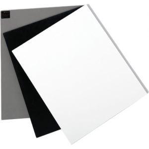 White Balance Card Set