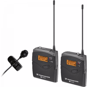 Sennheiser G3 Wireless Lav Mic Kit w/ MKE2 Gold Mic