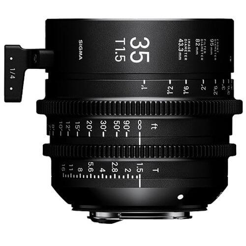 Sigma Cine 35mm T/1.5 FF