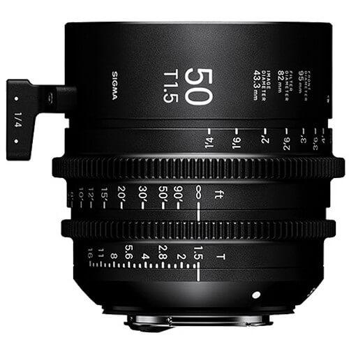 Sigma Cine 50mm T/1.5 FF