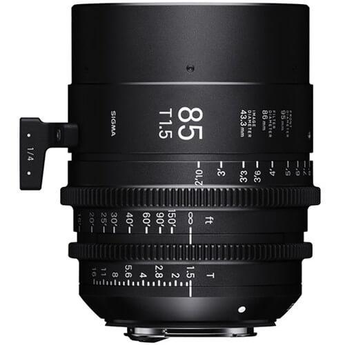 Sigma Cine 85mm T/1.5 FF lens