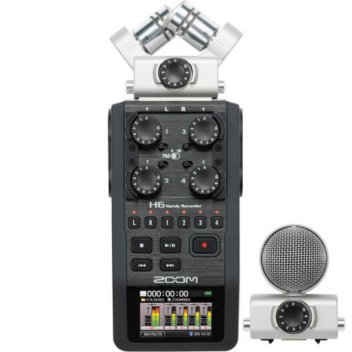 Zoom H6 - 4 Channel Recorder
