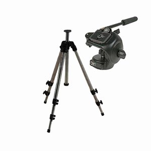 Manfrotto 128 Head Head w/ 144 Legs Tripod Kit
