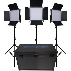 dracast LED 500 S Series 3 light kit 2